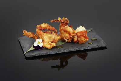 Cooked Soft Shell Crab